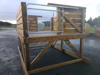 Bobby Calf Pen with Optional Loading Ramp and Roof