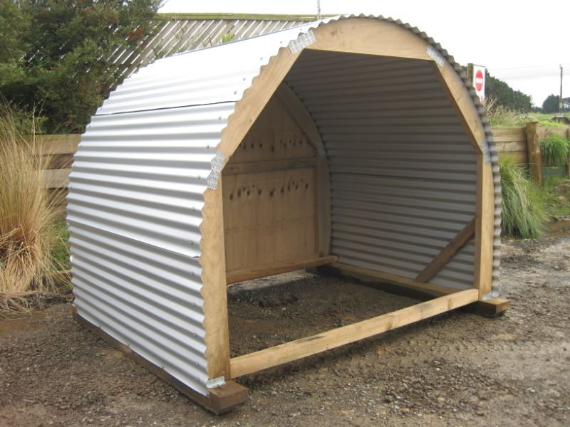 Firewood Storage Shelter : Cmpl build a wood shed nz