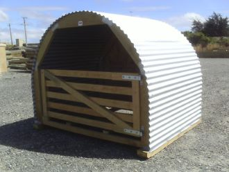 Wood and Shelter Shed