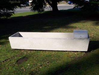 Rectangular Trough 450 LTR