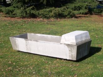 Rectangular Trough 250 Ltr