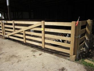Wooden Sheep Gates