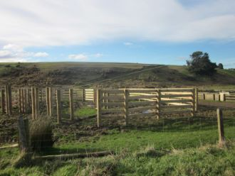 Wooden Cattle Gates